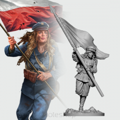 Apolonia from Polish Infantry (54mm resin)