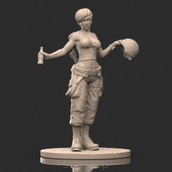 Jane (54mm resin) US Paratrooper