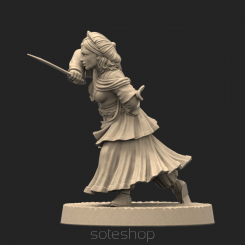 Metal miniature - Esmeralda
