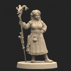 Metal miniature - Horpyna