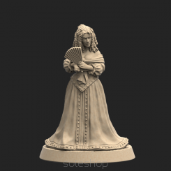 Metal miniature - Milady de Winter