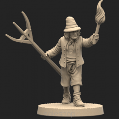 Metal miniature - Peasant 2