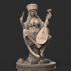 Ksenia (54mm resin) the Cossack