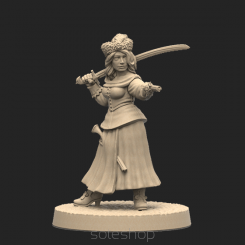 Metal miniature - Baśka