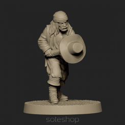 Metal miniature - El Baratero