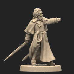 Metal miniature - Richelieu
