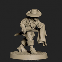 Metal miniature - Rochefort