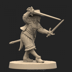 Metal miniature - Aramis