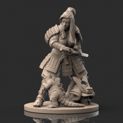 Azumi (54mm resin) the Samurai