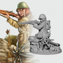 Betty the Ranger (54mm resin)