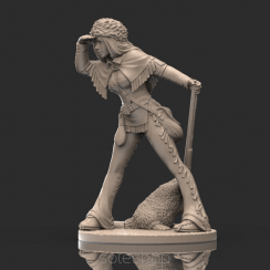 Ruby (54mm resin) the Trapper