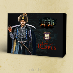 Bohun's Rebels faction box (metal)
