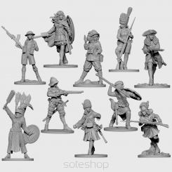 Season II (54 mm) pledge