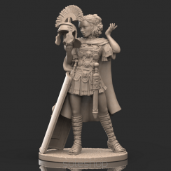 Maxima (54mm resin) the Centurion