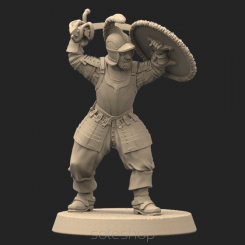 Metal miniature - Eisenhans