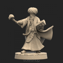 Metal miniature - Ibrahim