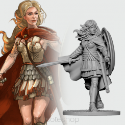 Alexandra of Macedon (54mm resin)