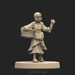 Metal miniature - Natalie