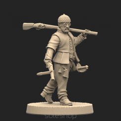 Metal miniature - Jean